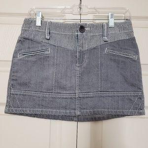 EUC BCBGirls Jean skirt